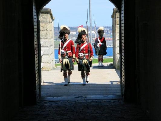 Wachablösung in der Citadel von Halifax