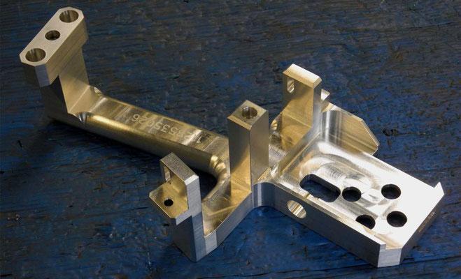 Aluminium 7075 part