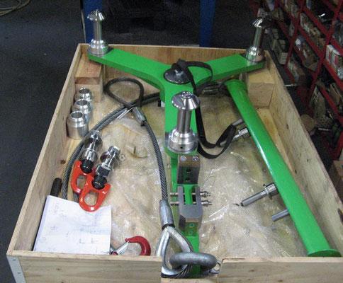 Handling's equipments