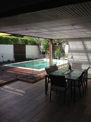 Outdoor Living Area - Design and Construction