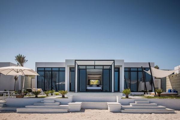 Nurai Island, Abu Dhabi - Resort Construction