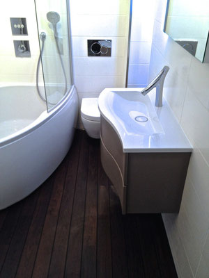Meuble Burgbad Sinea mitigeur Axor Starck organic salle de bains entreprise RG intérieur metz