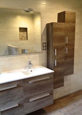 Salle de bain Nature meuble Nabis Woodstock Brossette RG Intérieur