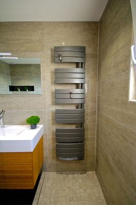 sèche serviette atlantic salle de bains entreprise RG intérieur metz