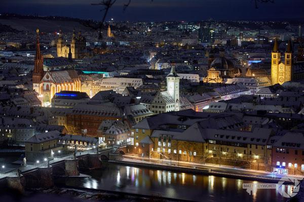 Würzburg im Winter