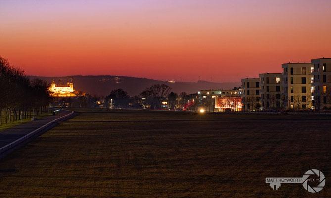 Hubland Sunset