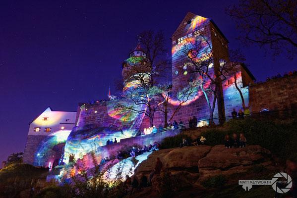 Blaue Nacht, Nürnberg