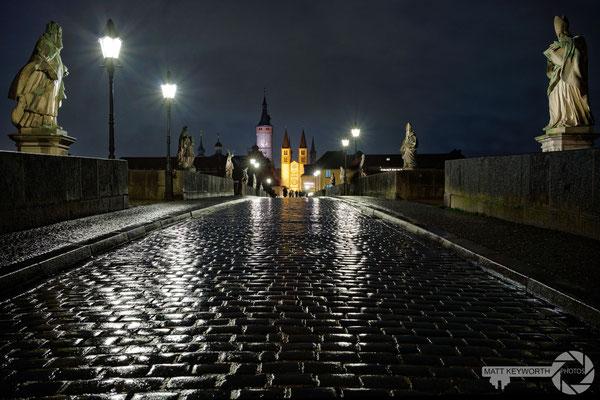 Würzburg im Regen