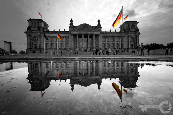 Reichstag Reflection