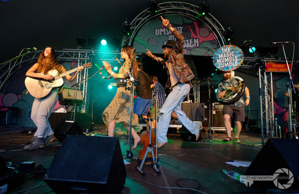 The Magic Mumble Jumble @Umsonst und Draussen Festival Würzburg