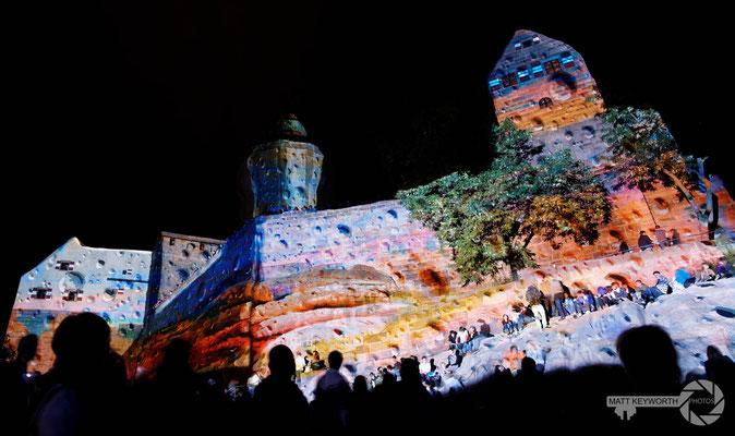 Blaue Nacht, Nürnburg