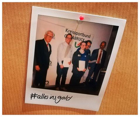 Hashtag auf Polaroid