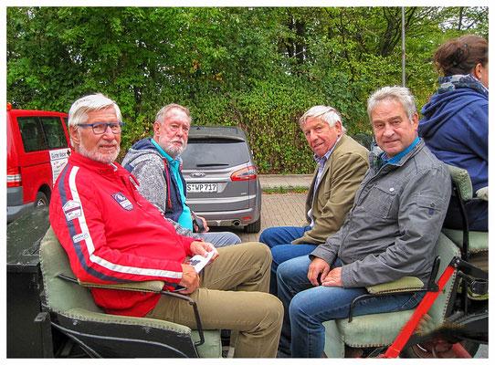Die Kutschfahrer Friedhelm und Rainer