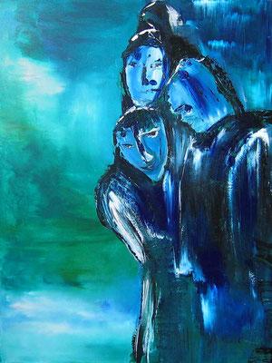 Geschwätzige Heuchler, Malerei für Laval, Frankreich