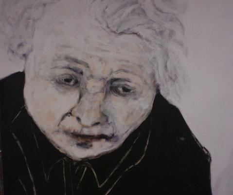 """""""Wohin Frau M?""""140x160 cm, 2008"""