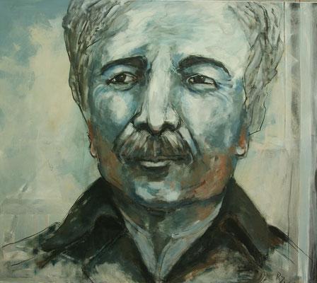 """""""Oberst B"""" 140x160 cm, 2009"""