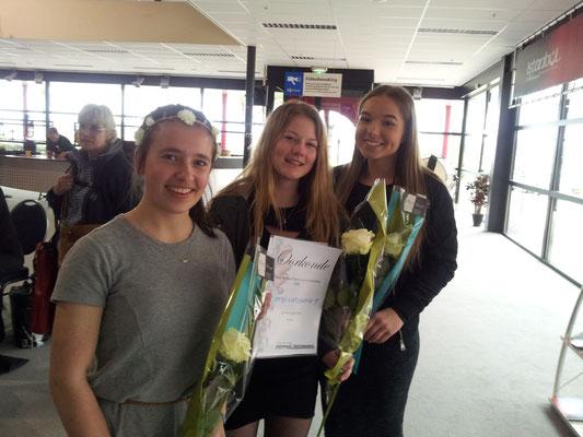 Les Trois Fleurs winnen de tweede prijs op Benelux Ensemble Fluit Concours 2016