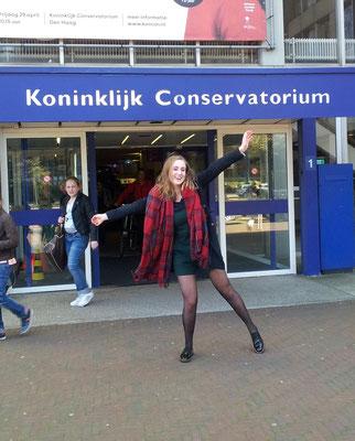 Rosanne van Bers aangenomen op het Koninklijk Conservatorium in Den Haag 2016