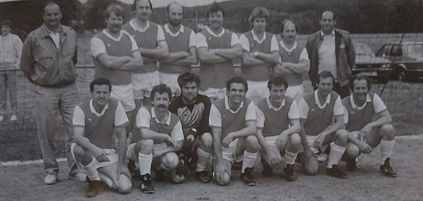 AH-Mannschaft Stadtturnier Sportfreunde, 1985