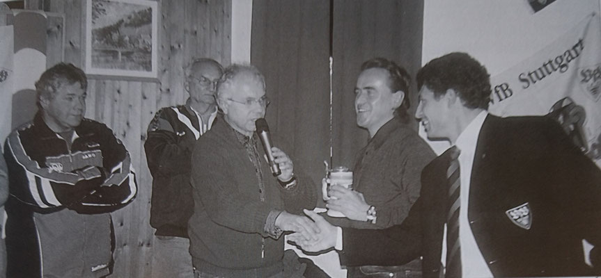 Krassimir Balakov und Günther Schäfer zu Gast in Mühlhausen, 2003
