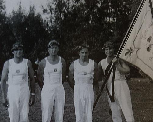 1. Gauturnfest Schwieberdingen 1956 im Gründungsjahr des Turngau Neckar Enz