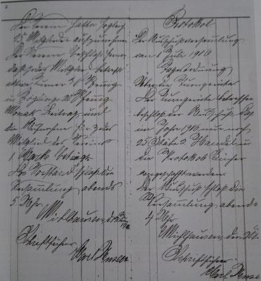 Gründungsprotokoll des TSV, Seite 2
