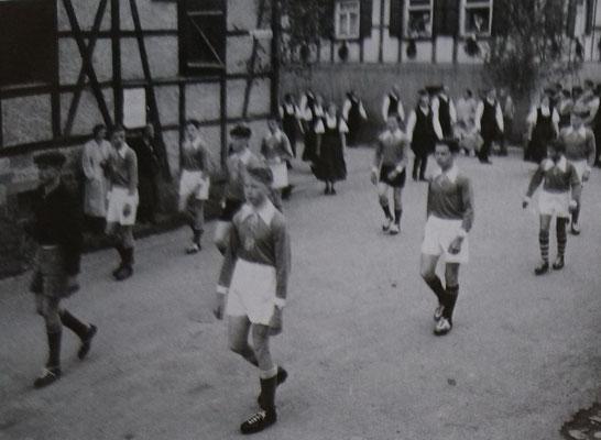Festumzug 50-jähriges Jubiläum, Fussball A-Jugend