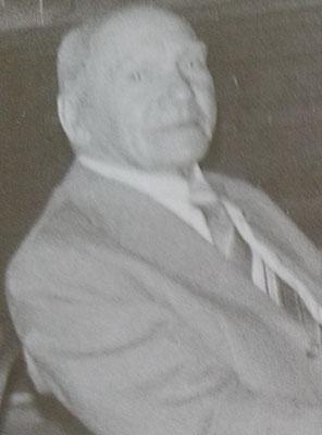 Gründungsprotokoll von Ernst Kehrwecker (Gründungsmitglied)