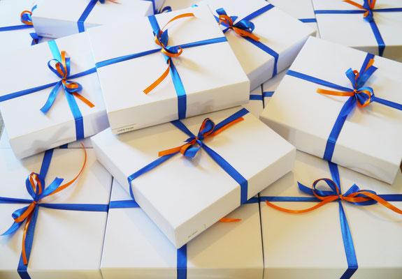 Boîtes cadeau pour les salariés de CGN Europe Energy