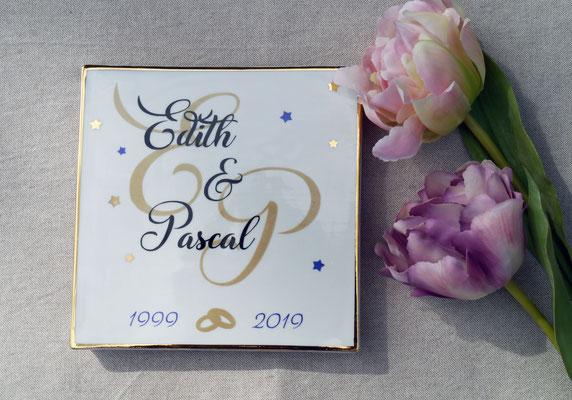 Sous de Plat pour un anniversaire de mariage