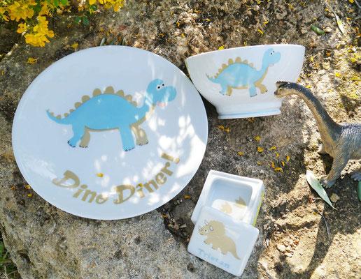 Set dinosaure à personnaliser