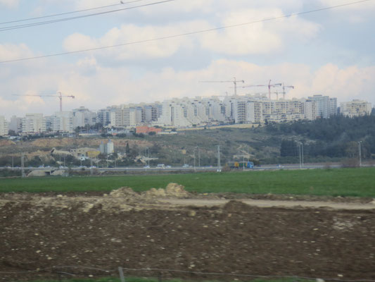 New building indetifies an Israeli settlement