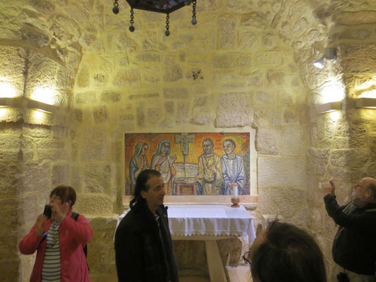 Chapel where St Jerome translated the Vulgate bible