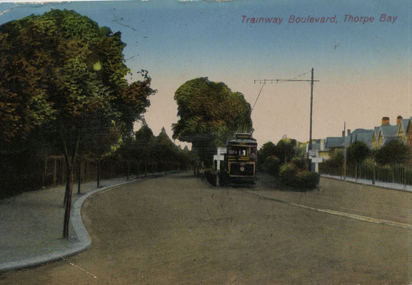 5. End of the Boulevard in Thorpe Bay