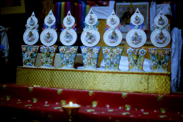 9/5/1990: 0: Ghoon, Samlen monastery butter scupltures