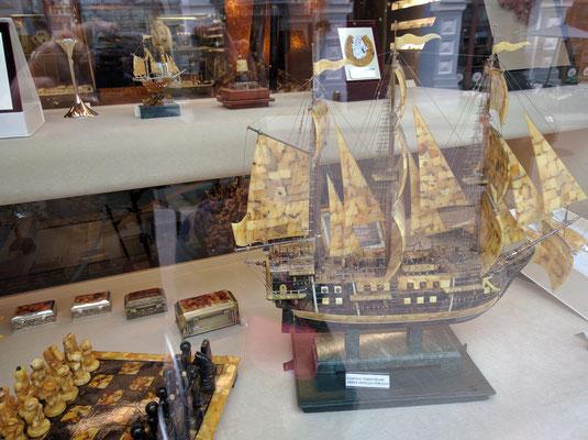 Amber souvenirs