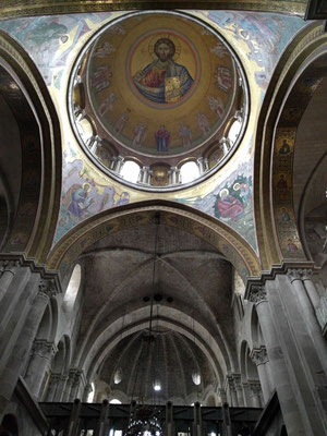 Christ Pantocrator in the dome