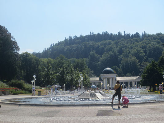 Marienbad Singing Fountain