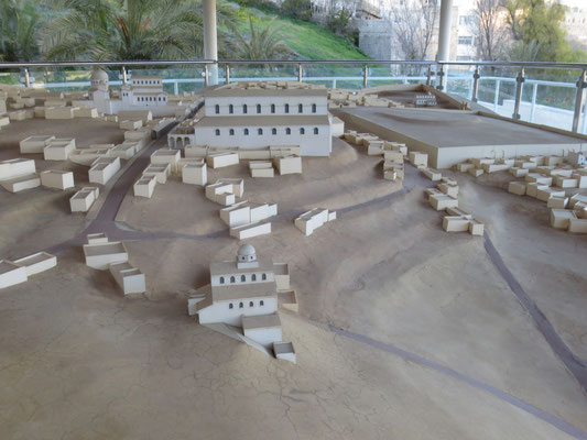 Model of the city in Byzantine period