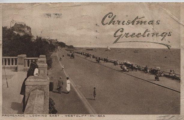 34 Promenade, looking east, Westcliff-on-Sea