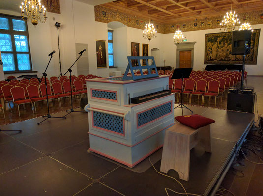Restored Royal Palace concert room