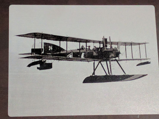 Short type 184 seaplane