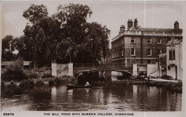 7. The Mill Pond with Queen's College Cambridge