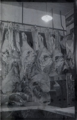 Meat market - photo probably taken by Charles