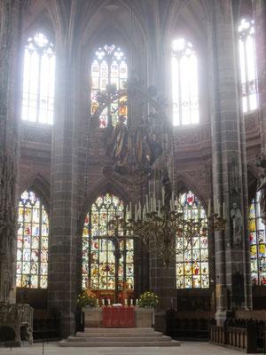 St Lorenz church Nuremburg