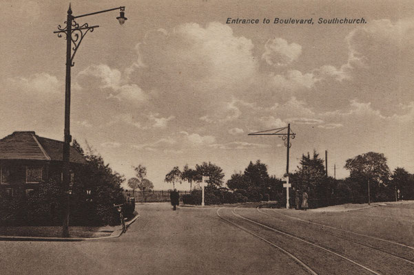 2. Entrance to Boulevard in Southchurch