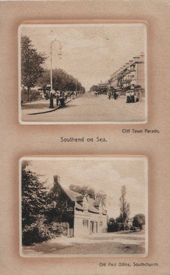 10. Cliff Town Parade Southend and Old Post Office Southchurch