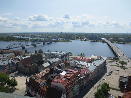Panoramic views of Riga