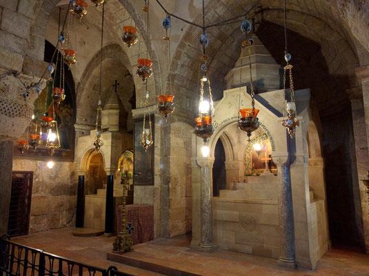 St Helena Chapel & St Dymas Chapel