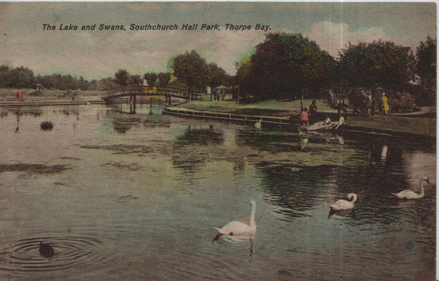 11. The Lake and Swans, Southchurch Hall Park, Thorpe Bay